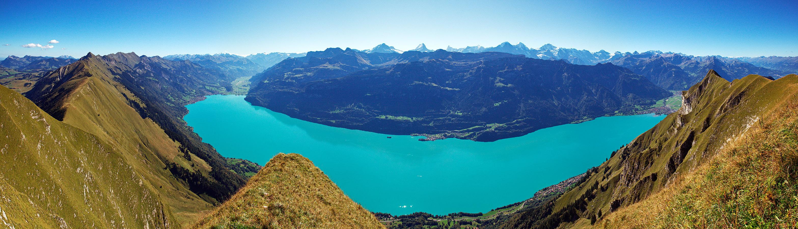 Panorama Vom Augstmatthorn Mit Blick Auf Berner Alpen
